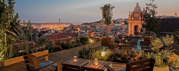 Incentive travel ideas – 3 Best Rooftop Bars in Portugal