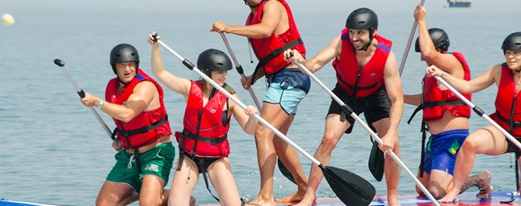 Stand Up Paddle – a Team Building  to Connect Body and Soul